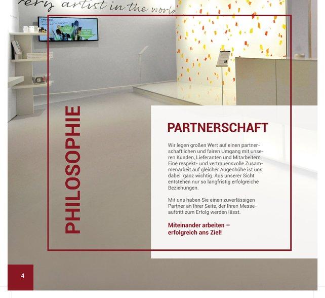 Neue Imagebroschüre von ICOM Messebau GmbH