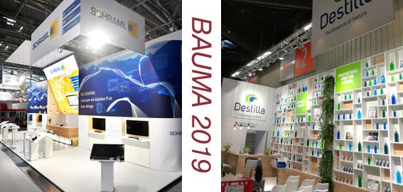Die Bauma.de 2019 vom 08. bis 14. April 2019 in München