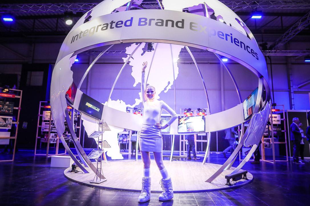 IGlobe Eindruck auf der BrandEX
